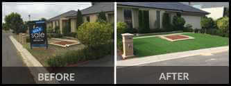 Before and After for Landscaping