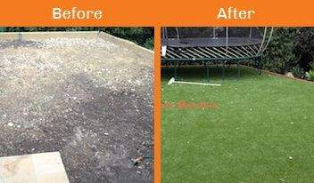Eltham north before & after xtreme turf work