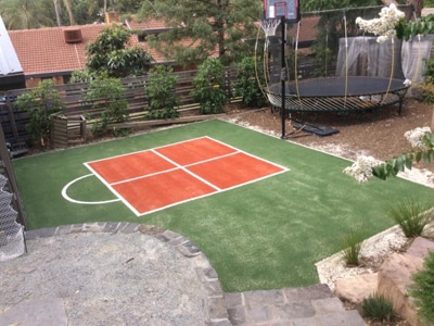 Back Yard Multi Sport Areas