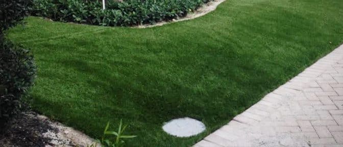 artifical grass installation